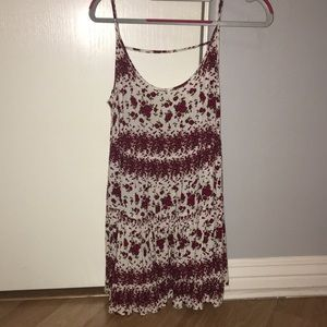 Rose pattern dress
